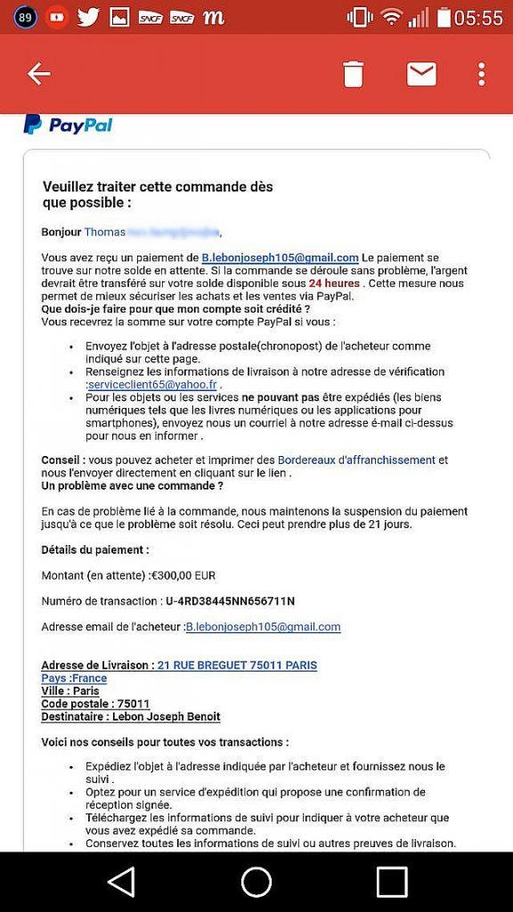 arnaque recharge.fr